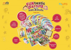 Buku Aktifitas Anak - FUNtastic Learning with Nabil & Naura