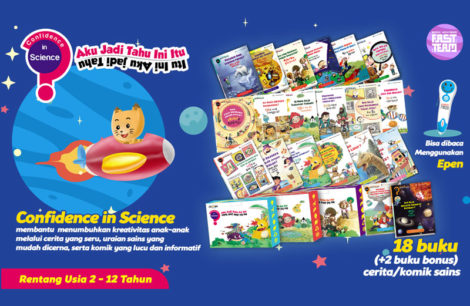 Buku Anak Balita - Confidence In Science